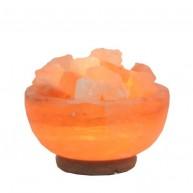 Lámpara de Sal del Himalaya Cuenco Grande