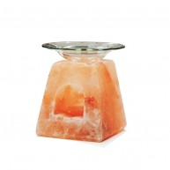 Quemador Aceite Esencial de Sal del Himalaya PRISMA