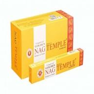 Incienso Golden Nag Temple 15 grs VIJAYSHREE