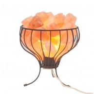 Lámpara de Sal del Himalaya Canasta
