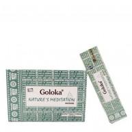 Incienso Nature's Meditation 15 gr GOLOKA