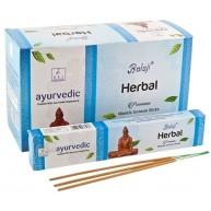 Incienso Ayurvedic Herbal 15 grs BALAJI