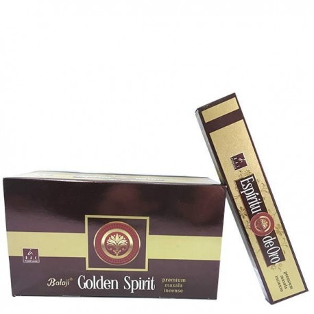 Incienso Golden Spirit 15 gr BALAJI