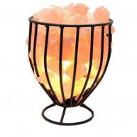 Lámpara de Sal del Himalaya Cesta