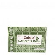 Incienso Nature's Basil 15 gr GOLOKA