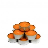 Pack 10 tealights con aroma a Melocoton 5 Horas