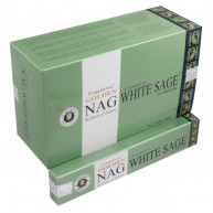 Incienso Golden Nag White Sage (Salvia Blanca) 15 grs VIJAYSHREE