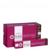 Incienso Golden Nag Meditación 15 gr VIJAYSHREE