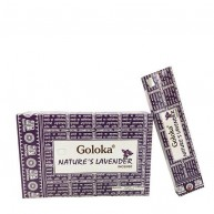 Incienso Nature´s Lavender 15 grs GOLOKA