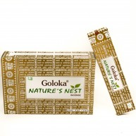 Incienso Nature's Nest 15 gr GOLOKA