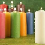 Las velas de colores y su significado