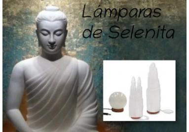 Lámparas de Selenita